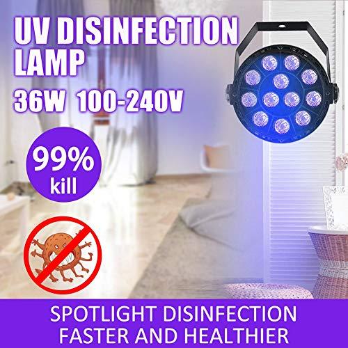 LED UV Desinfektion Germizid Lampe Zuhause Ultraviolett Sterilisator Sterilisation Licht Bakterien Desinfizieren Virus Sterilisieren Ausrüstung, 360 Grad ohne tot Winkel