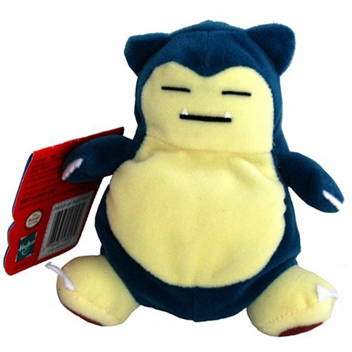 SNORLAX 1998 Pokemon Bean Bag Plush 6'