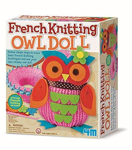 4M - Francese Knitting Gufo Doll, Gioco di creatività (004M2764)