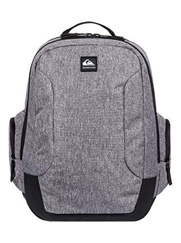 Quiksilver Schoolie 30l-Mochila Grande para Hombre Backpack, Light Grey Heather, 1SZ