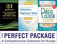 Vallerand Drug Guide + Van Leeuwen Comp Man Lab & Dx Tests 8th Ed + Tabers Med Dict 23rd Ed (Perfect Package)