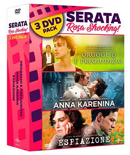 Triple Pack: Anna Karenina/Espiazione/Orgoglio E Pregiudizio (Box Set) (3 DVD)