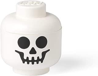 LEGO Storage Head Small, White - Skeleton