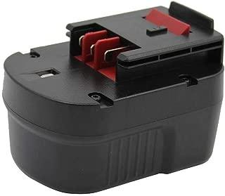 Kinon Reemplazo Herramienta Eléctrica Batería 12V 2.0Ah Para Black & Decker Taladro Inalambrico Destornillador A12 A12EX A1712 A12-XJ BD12PSK FS120B FSB12 HPB12 Firestorm FS120B FS120BX FS1200D