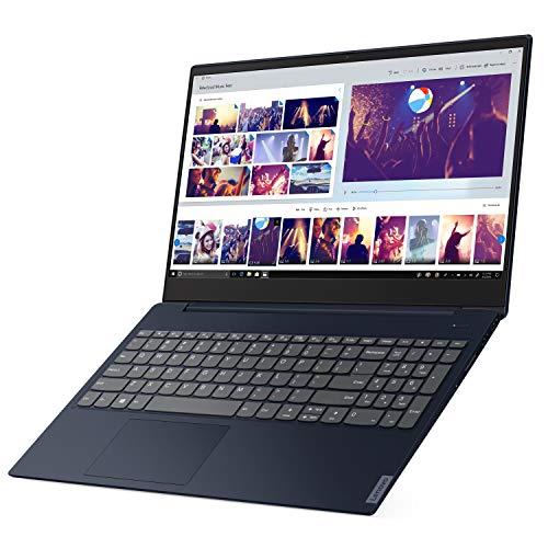 "Lenovo ideapad S340 15.6"" HD LED Backlit Anti-Glare Display Laptop, Intel Core i3-8145U 2.1GHz up to 3.9GHz, 8GB DDR4, 128GB NVMe SSD, Bluetooth, USB 3.1, HDMI, Webcam, Windows 10 (Abyss Blue)"