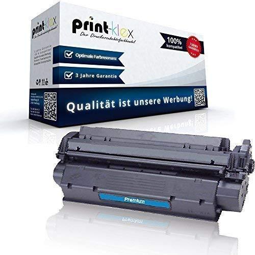 Print-Klex kompatibler XXL Toner für HP Laserjet 1000 W 1005 W 1200 N 1220 SE 3300 MFP 3310 3320 N MFP 3320 MFP 3330 MFP 3380 MFP C7115X HP15A HP15X HP 15X XXL 4.500 Seiten Black