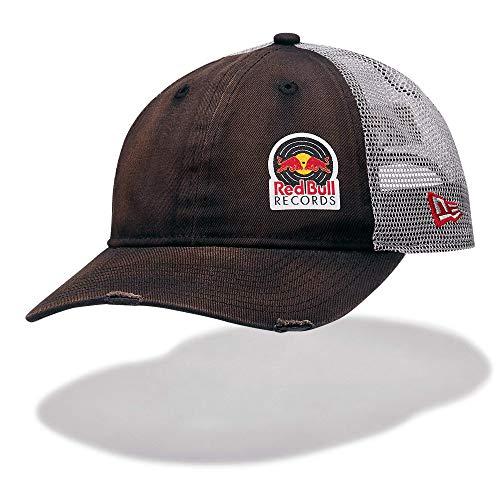Red Bull Records New Era 9Twenty Vintage Gorra, Negro Unisexo Talla única Cap, Records Original Ropa & Accesorios