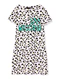 Love Moschino Dress_Allover animalier&Logo Print Vestido, Multicolor (P.Leopard/Pink 0015), 42 para Mujer