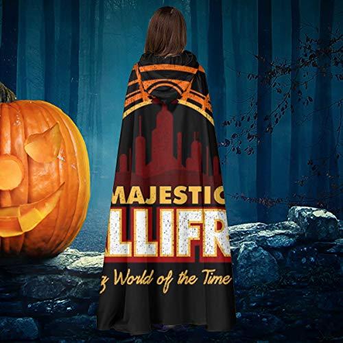 AISFGBJ Majestic Gallifrey Doctor Who Tardis - Disfraz de caballero bruja con capucha para disfraz de vampiros