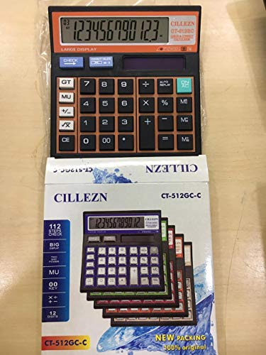 MEDIA MALL Electronic with Large Display Power Calculator