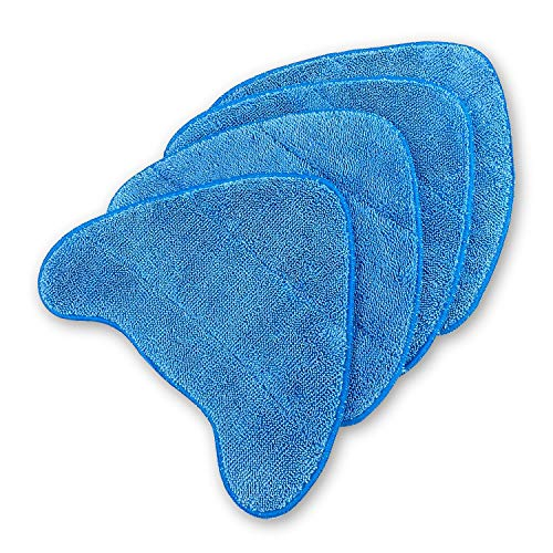 ANTOBLE 4 Pack Replacement Steam Mop Cleaning Pads for Vax Steam Cleaner Mops S85-CM, S7, S86-SF-CC, S86-SF-C and More