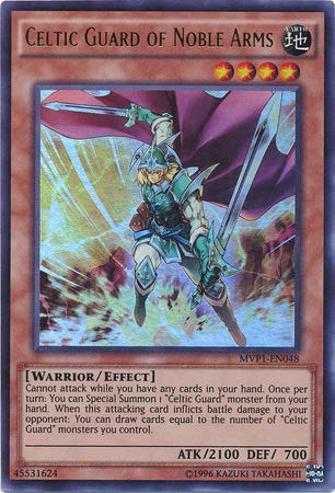 Yu-Gi-Oh! - Celtic Guard of Noble Arms - MVP1-EN048 - Ultra Rare - Unlimited Edition - The Dark Side of Dimensions Movie Pack
