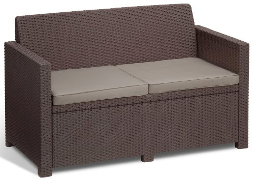 Allibert Lounge-Set Merano 4tlg, braun/taupe - 4