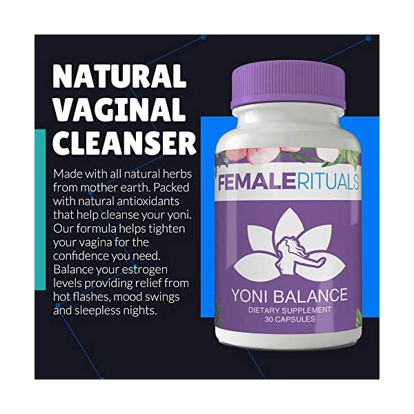 Detox products Female Rituals – Yoni Balance – Vaginal Tightening Pills – No Tightening