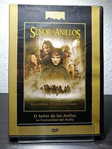 El Señor de los Anillos 1: La comunidad del anillo [DVD]