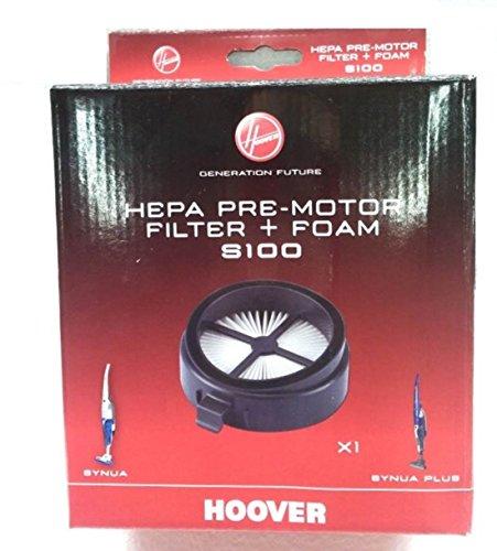 RICEL SUD Hoover SYNUA SYNUA PLUSS Filtro HEPA PREMOTORE Spugna ASPIRAPOLVER 35601367 S100