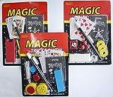wuselwelt (68726) Tricks de magia para niños, juego de magia para niños, trucos mágicos, cumpleaños infantiles, fiestas temáticas, regalos, tombola, varios modelos