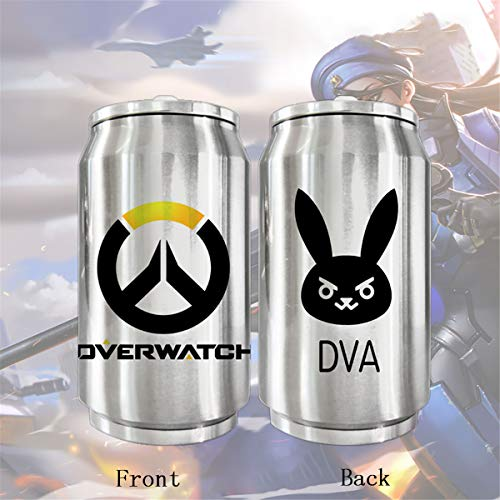 IFREE Anime Travel Vacuum Mug Cartoon Stainless Steel Insulated Water Bottle Double Wall Thermos Movie Game Fans Coffee Cup Best Cosplay Gift for Women Men Boy Girl,2,500ML