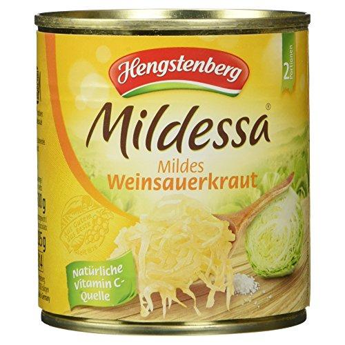 Hengstenberg Mildessa Mildes Weinsauerkraut, 285 g