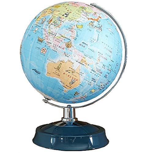 地球儀 ひらがな地球儀 26cm 26-hap-r3 絵入り 日本製 付録付き 学習用