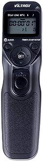 VILTROX Time Lapse Intervalometer Timer Remote Control Shutter with N3 Cable for Nikon D90 D600 D3100 D3200 D5000 D5100 D7000