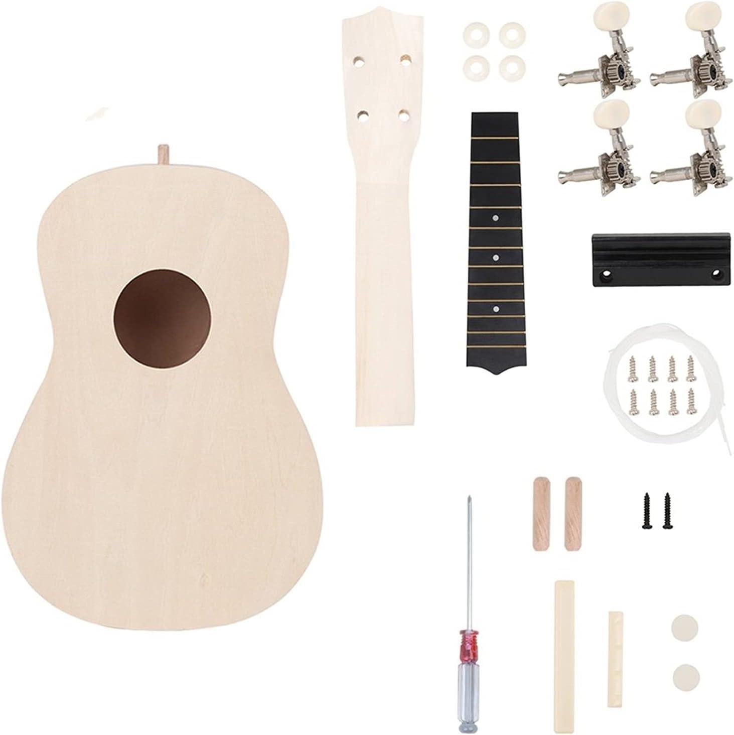 Ukuleles 21 Inch Ukulele DIY Guitar Kit Painting Award 4-String Hawaii Max 71% OFF