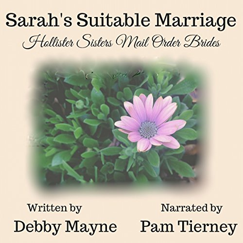 Sarah's Suitable Marriage audiobook cover art