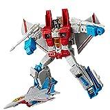 JINJIND Juguetes de Transformers, Dominio deformado Aeroplano Starscream Muelle Muñeca Modelo Modelo Juguete Regalo para niños