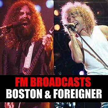 FM Broadcasts Boston & Foreigner
