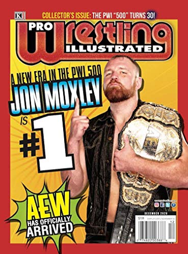 Pro Wrestling Illustrate: December 2020 Issue-PWI 500 30th Annual Edition (Pro Wrestling Illustrated)