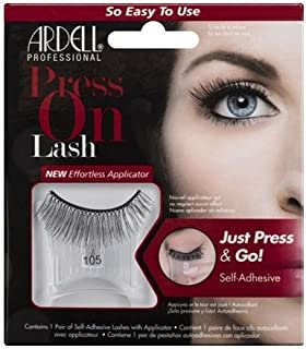 Ardell - Press On Lash Self-Adhesive - 105 Black by Ardell