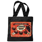 sac à bandoulière CAFÉ COFFEE SHOP CAFÉ EXPRESSO EXPRESSO...