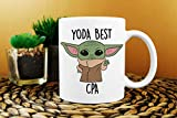 Best CPA Ever, Yoda Best CPA Mug, Best CPA Gift, Gift for Cpa, Cpa Birthday Gift, Funny Cpa Mug, Baby Yoda Mug, Funny Cpa Gifts, Cpa Gifts