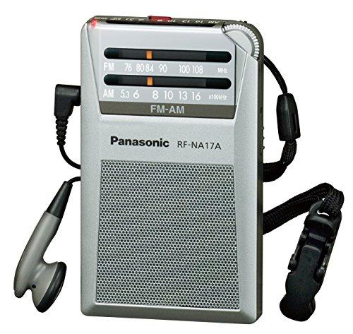 Silver radio RF-NA17A-S commute Panasonic FM / AM 2 Band