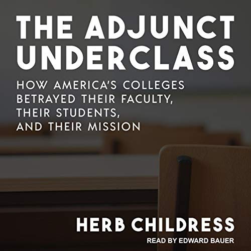 Page de couverture de The Adjunct Underclass