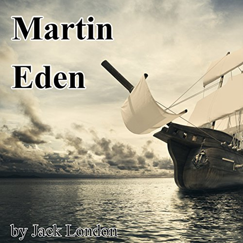 Martin Eden audiobook cover art