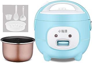 Rijstkoker (2L/400W) Huishoudelijke Mini Non-Stick Rijstkoker, One-Key Koken en Automatische Warmtebehoud, 3 Kleuren (Kleu...