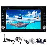 FWZJ Reproductor de DVD automático MP3 MP4 Multimedia Estéreo para automóvil PC Radio Autoradio Doble DIN Electrónica Unidad Principal de CD en el Tablero Pantalla táctil de Video iPod DVB-T ISDB