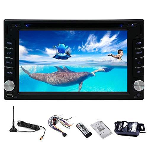 FWZJ Auto Lettore Dvd MP3 MP4 Multimedia Car Stereo Car PC Radio Autoradio Doppio DIN Elettronica CD unità Principale nel cruscotto Video Touch Screen iPod DVB-T ISDB-T TV Digitale Videocamera VI