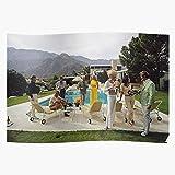 sommelier 1970 Party Poolside Gossip Drinks Aarons Girls
