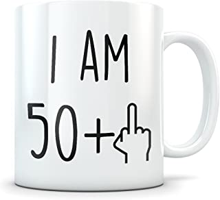 Funny 51st Birthday Gift for Women and Men - Turning 51 Years Old Happy Bday Coffee Mug - Gag Party Cup Idea for a Joke Celebration - Best Adult Birthday Presents