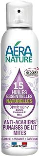 AERA NATURE : Anti Punaises de lit, acariens et mites, contrôlé ECOCERT, aux 15 huiles essentielles naturelles, 125ml, by ...