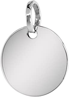 Best round sterling pendant Reviews
