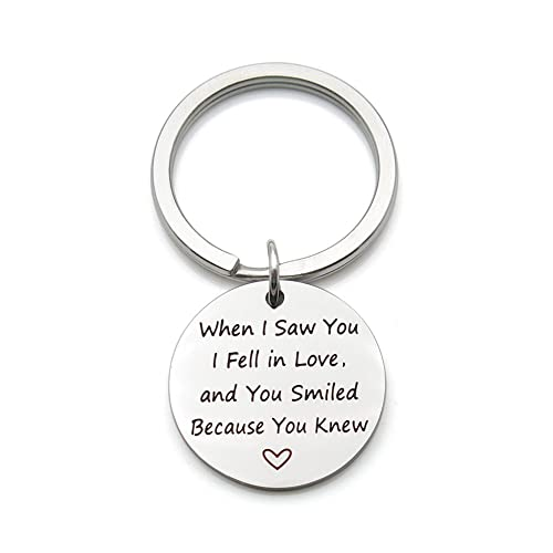 Valentines Day Gift Gift For Him I/'m Nuts About You Keyring Romantic Keyring