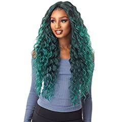 Color Shown on Model: JADE Hand-Tied Deep Center Part Natural Parting From Edge to Crown Heat Safe up to 350F