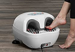 Sharper Image Acupressure Heated Foot Massager Review