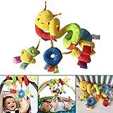 Dastrues Baby Mobile, Babybett Musik Spielzeug Kind Wiege Kinderbett Babywagen Klingeln Bett Glocken Spirale Rasseln Spielsachen