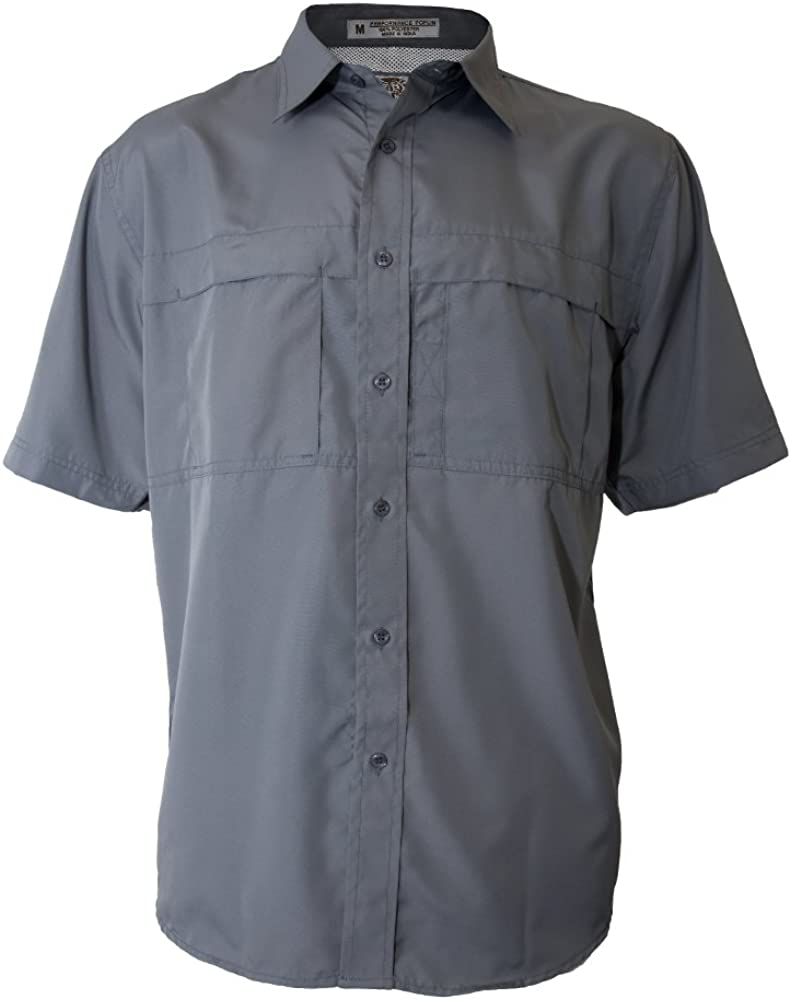 Tiger Hill Men's Pescador Polyester Fishing Shirt Short Sleeves