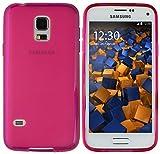 mumbi Funda Compatible con Samsung Galaxy S5 Mini Caja del teléfono móvil, Rosa