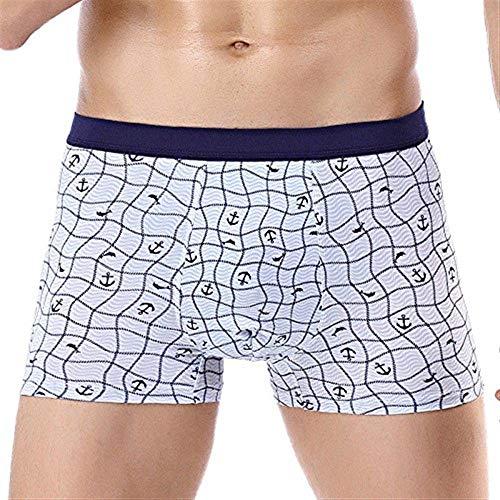 Pantalones Cortos De De Algodón Simple Hombre Para Boxeador Estilo Calzado De...